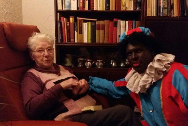 Ma en zwarte Piet